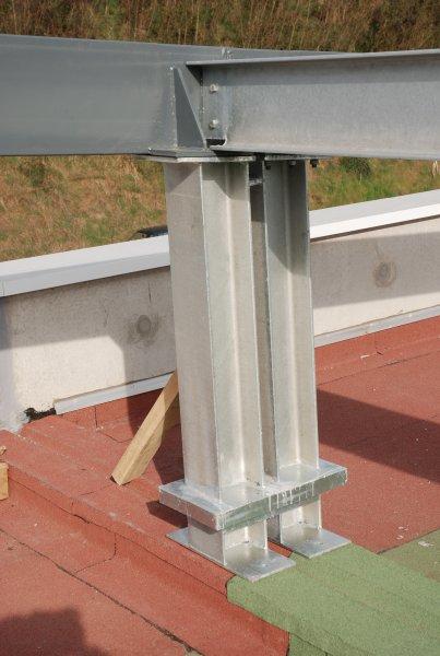 Construction b timent erp structure porteuse du parking join de dilatation - Detail charpente metallique ...